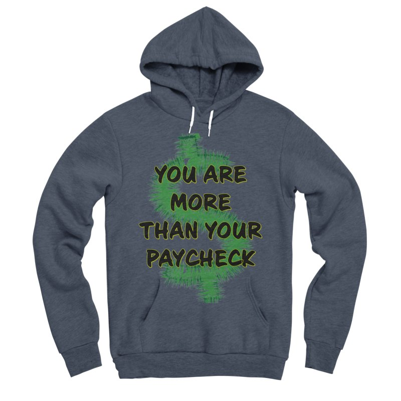 You are MORE! Women's Sponge Fleece Pullover Hoody by SixSqrlStore