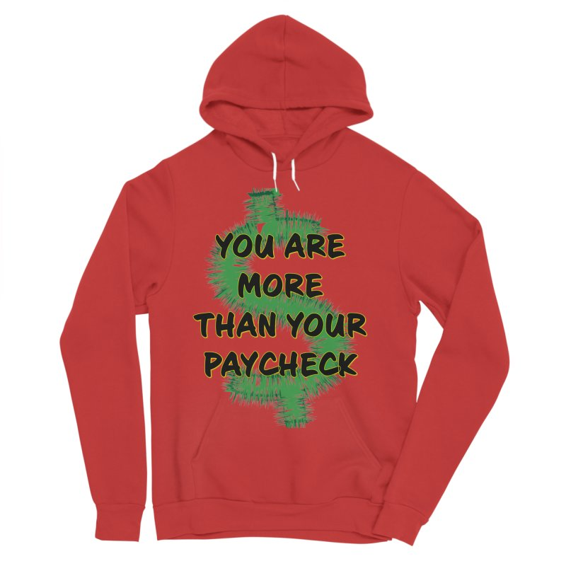 You are MORE! Men's Sponge Fleece Pullover Hoody by SixSqrlStore