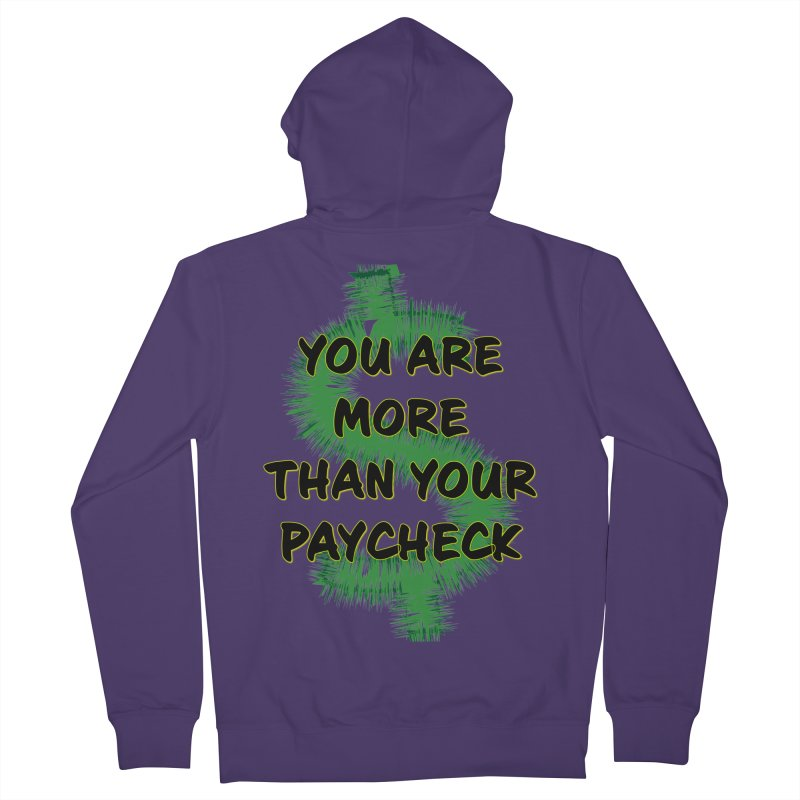 You are MORE! Women's French Terry Zip-Up Hoody by SixSqrlStore