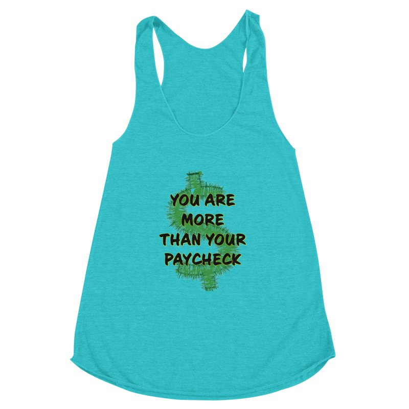 You are MORE! Women's Racerback Triblend Tank by SixSqrlStore