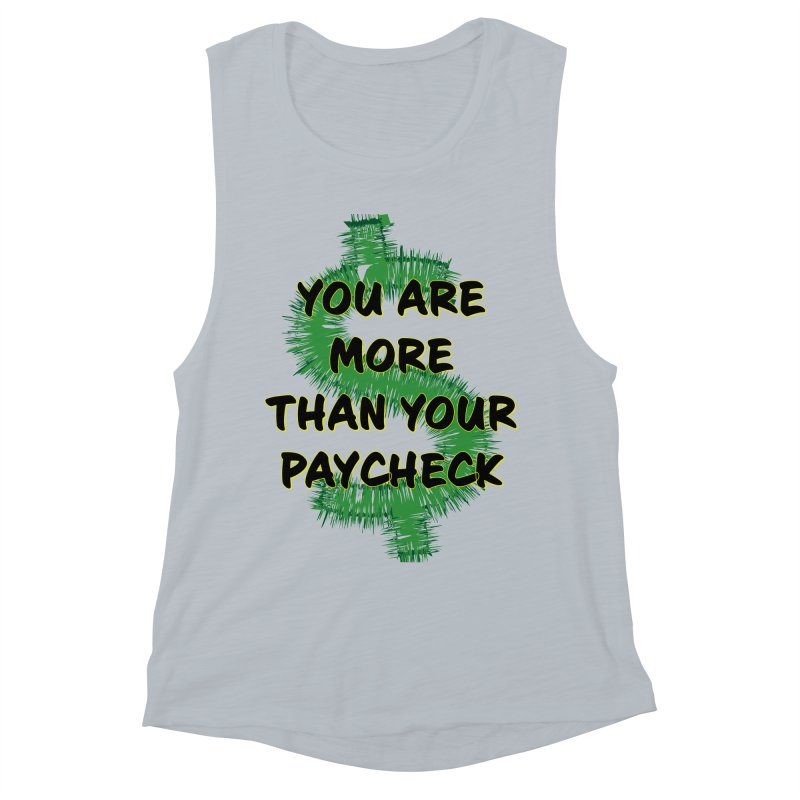You are MORE! Women's Muscle Tank by SixSqrlStore