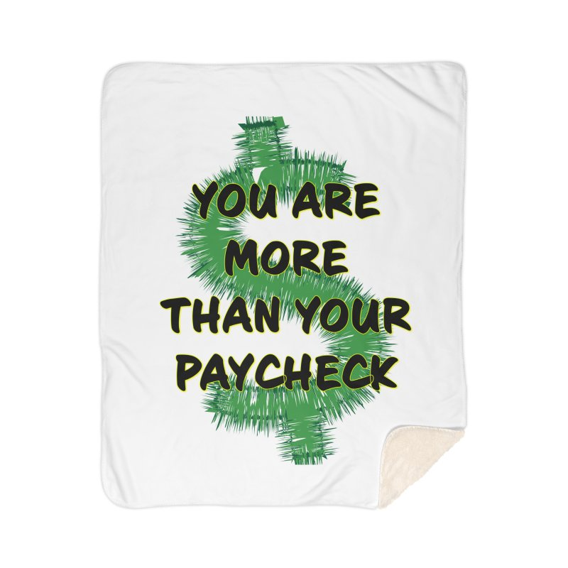 You are MORE! Home Sherpa Blanket Blanket by SixSqrlStore