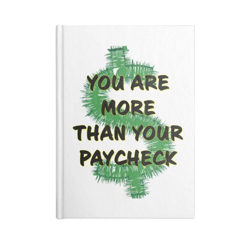 You are MORE! Accessories Blank Journal Notebook by SixSqrlStore