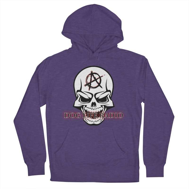 Dog Life Radio Women's French Terry Pullover Hoody by SixSqrlStore