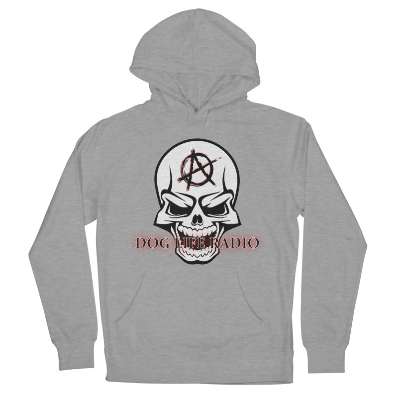 Dog Life Radio Men's French Terry Pullover Hoody by SixSqrlStore