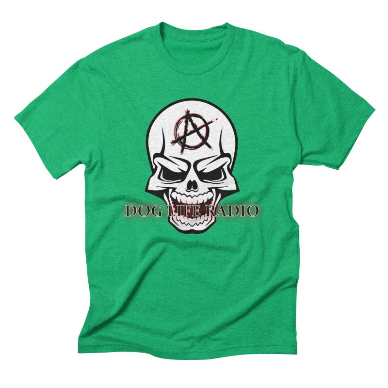 Dog Life Radio Men's Triblend T-Shirt by SixSqrlStore