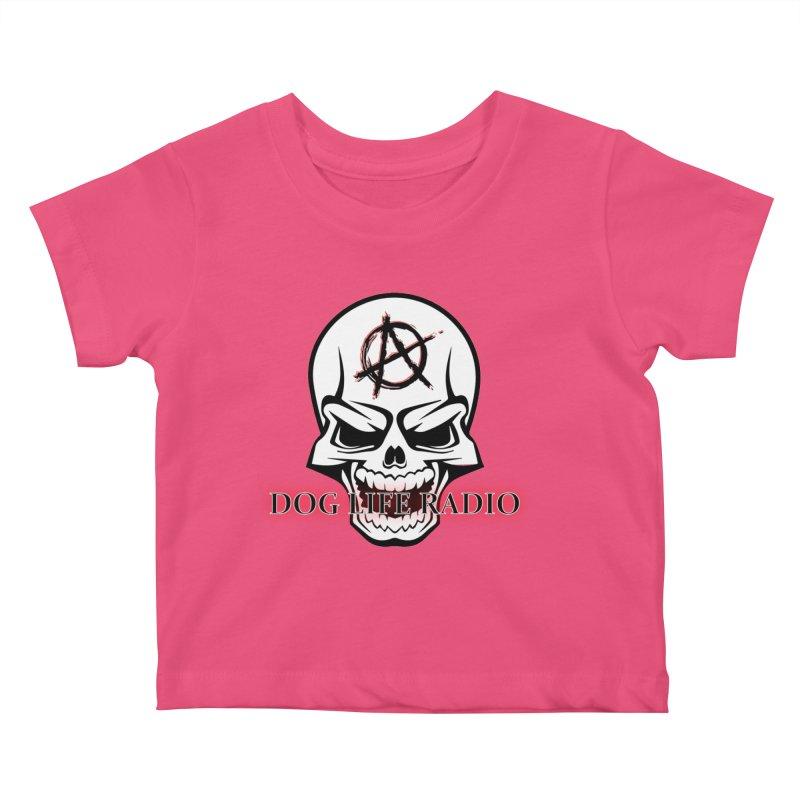 Dog Life Radio Kids Baby T-Shirt by SixSqrlStore