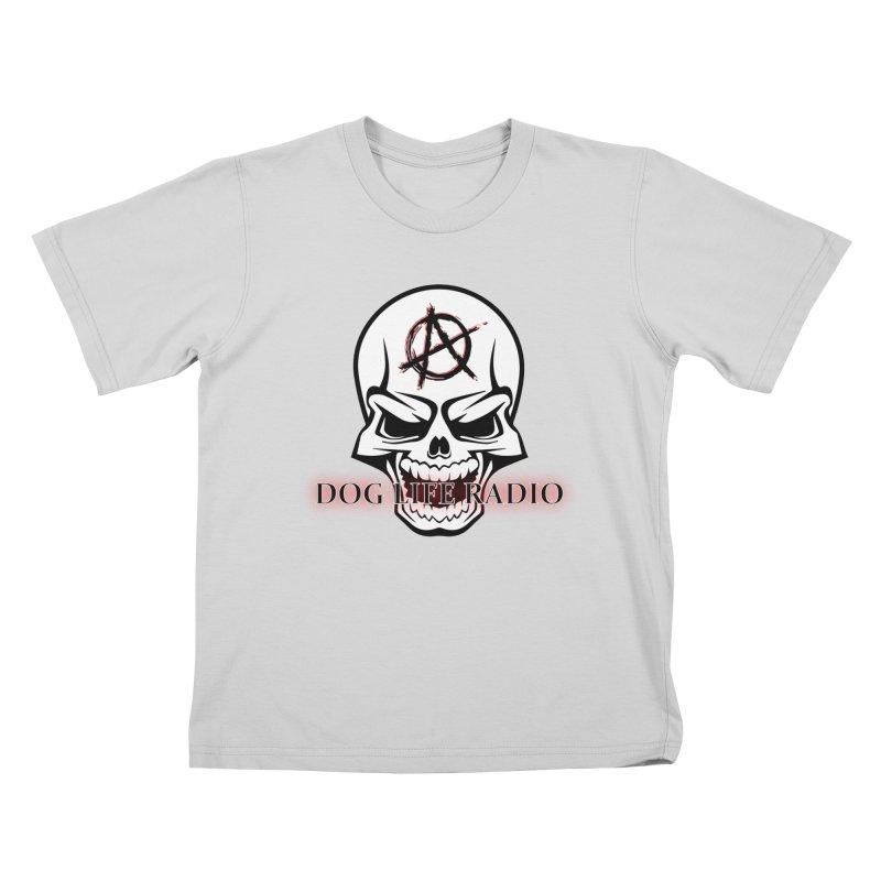 Dog Life Radio Kids T-Shirt by SixSqrlStore
