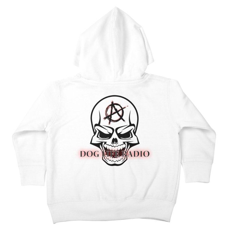 Dog Life Radio Kids Toddler Zip-Up Hoody by SixSqrlStore