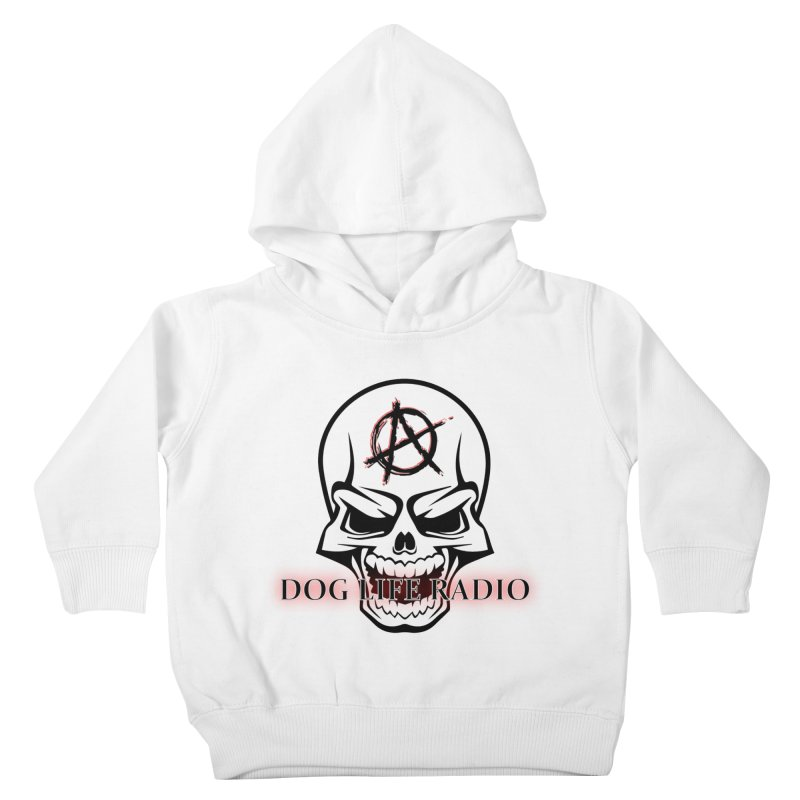 Dog Life Radio Kids Toddler Pullover Hoody by SixSqrlStore