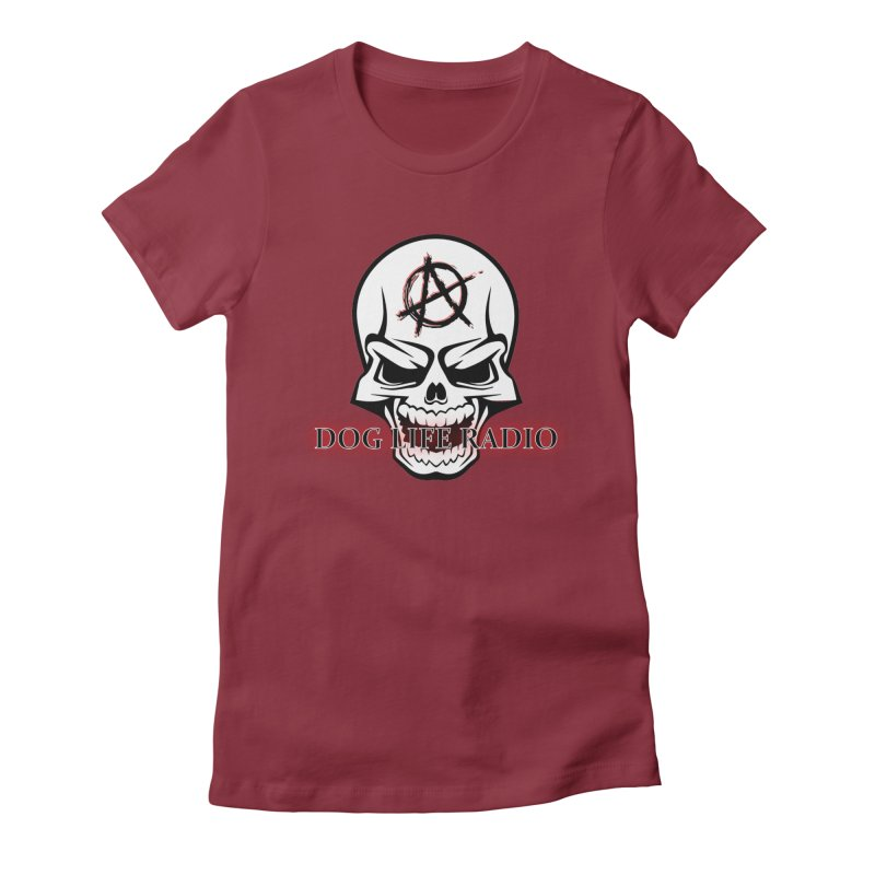 Dog Life Radio Women's Fitted T-Shirt by SixSqrlStore