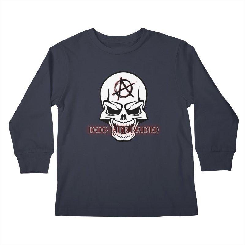 Dog Life Radio Kids Longsleeve T-Shirt by SixSqrlStore