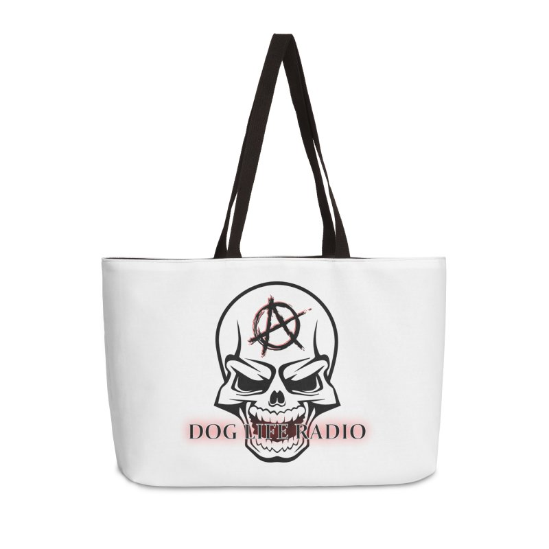 Dog Life Radio Accessories Weekender Bag Bag by SixSqrlStore