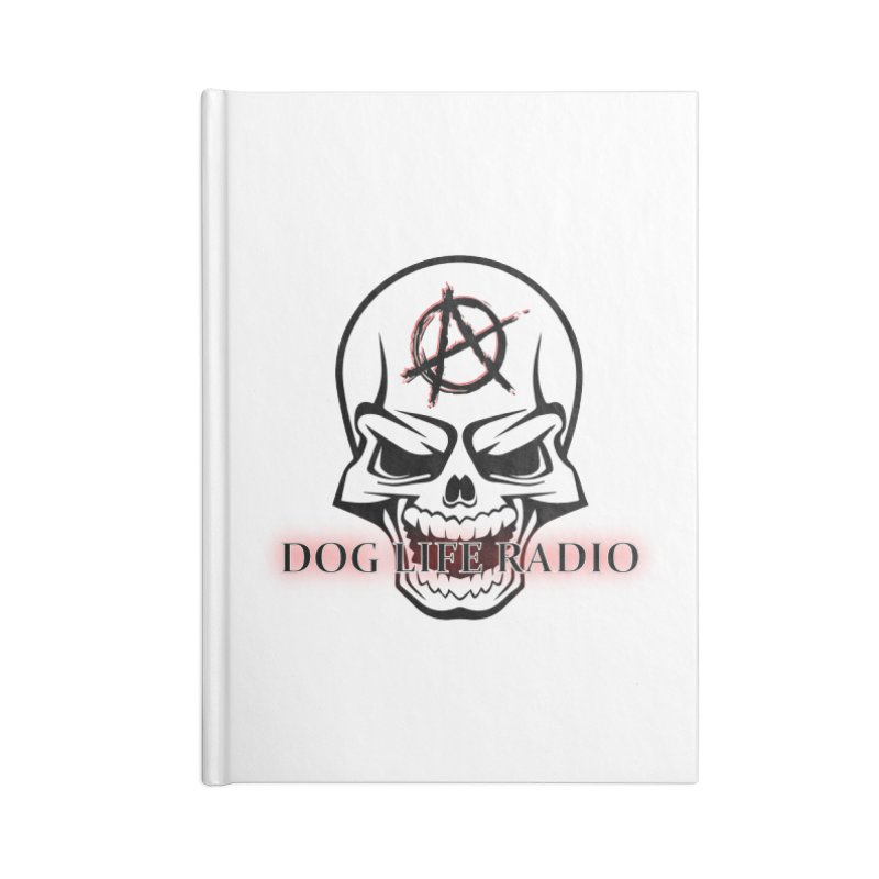 Dog Life Radio Accessories Lined Journal Notebook by SixSqrlStore
