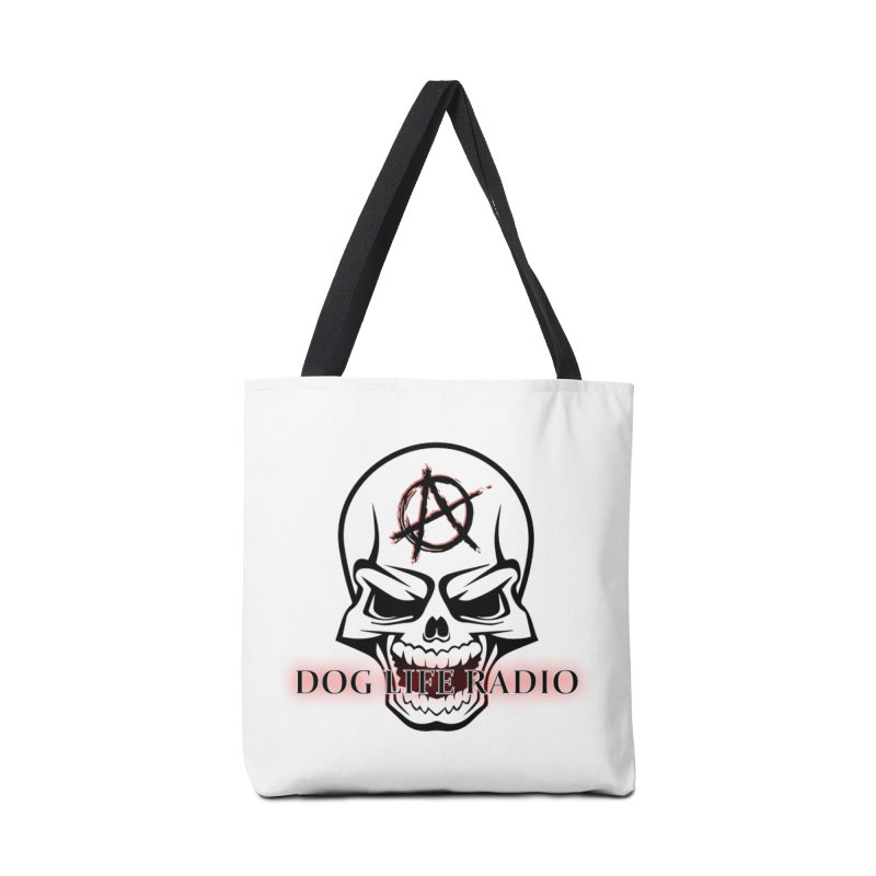 Dog Life Radio Accessories Tote Bag Bag by SixSqrlStore
