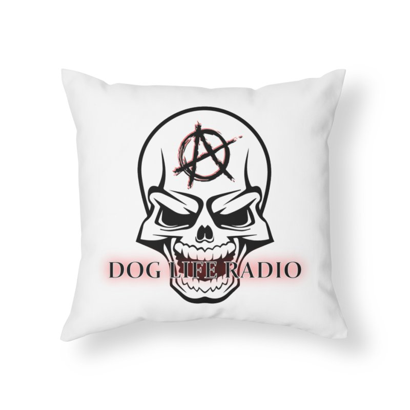 Dog Life Radio Home Throw Pillow by SixSqrlStore