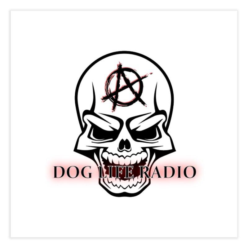 Dog Life Radio Home Fine Art Print by SixSqrlStore