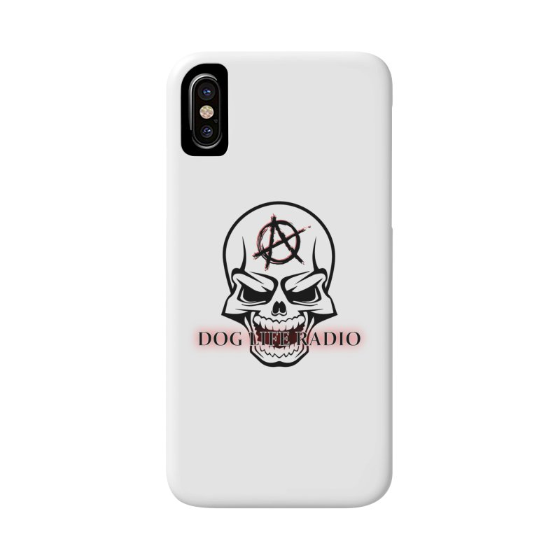Dog Life Radio Accessories Phone Case by SixSqrlStore