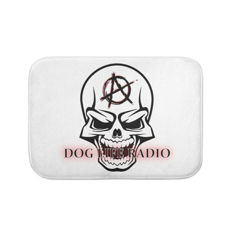 Dog Life Radio Home Bath Mat by SixSqrlStore