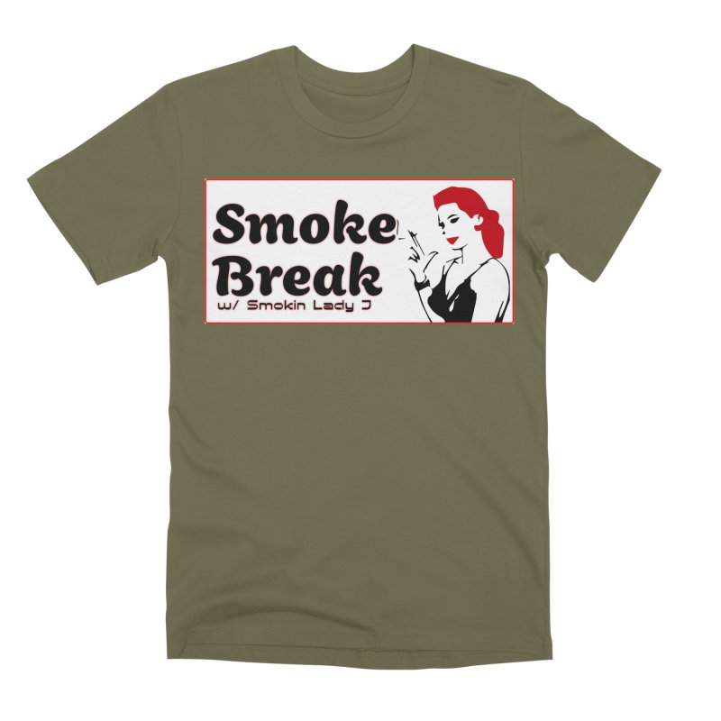 Smoke Break Classic Men's Premium T-Shirt by SixSqrlStore