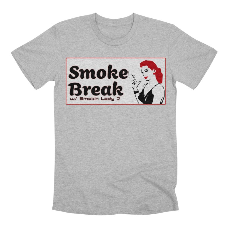 Smoke Break Classic Men's Premium T-Shirt by SixSqrlStore