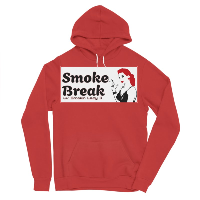 Smoke Break Classic Men's Sponge Fleece Pullover Hoody by SixSqrlStore