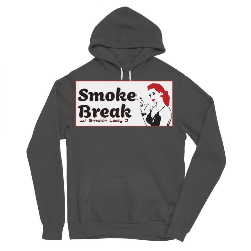 Smoke Break Classic Men's Sponge Fleece Pullover Hoody by SixSqrlStore