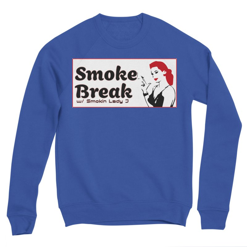 Smoke Break Classic Men's Sponge Fleece Sweatshirt by SixSqrlStore