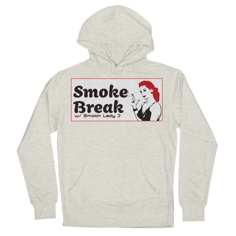 Smoke Break Classic Men's French Terry Pullover Hoody by SixSqrlStore