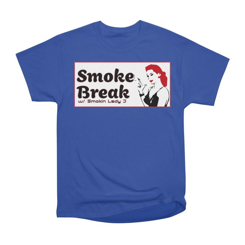 Smoke Break Classic Women's Heavyweight Unisex T-Shirt by SixSqrlStore