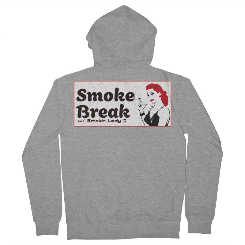 Smoke Break Classic Women's French Terry Zip-Up Hoody by SixSqrlStore