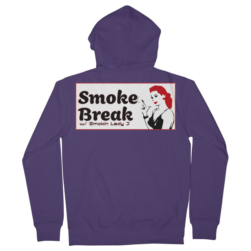 Smoke Break Classic Women's French Terry Zip-Up Hoody by SixSqrlStore