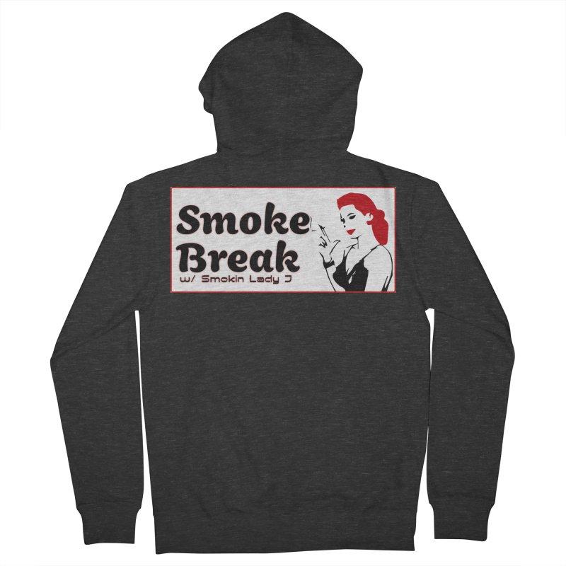 Smoke Break Classic Men's French Terry Zip-Up Hoody by SixSqrlStore