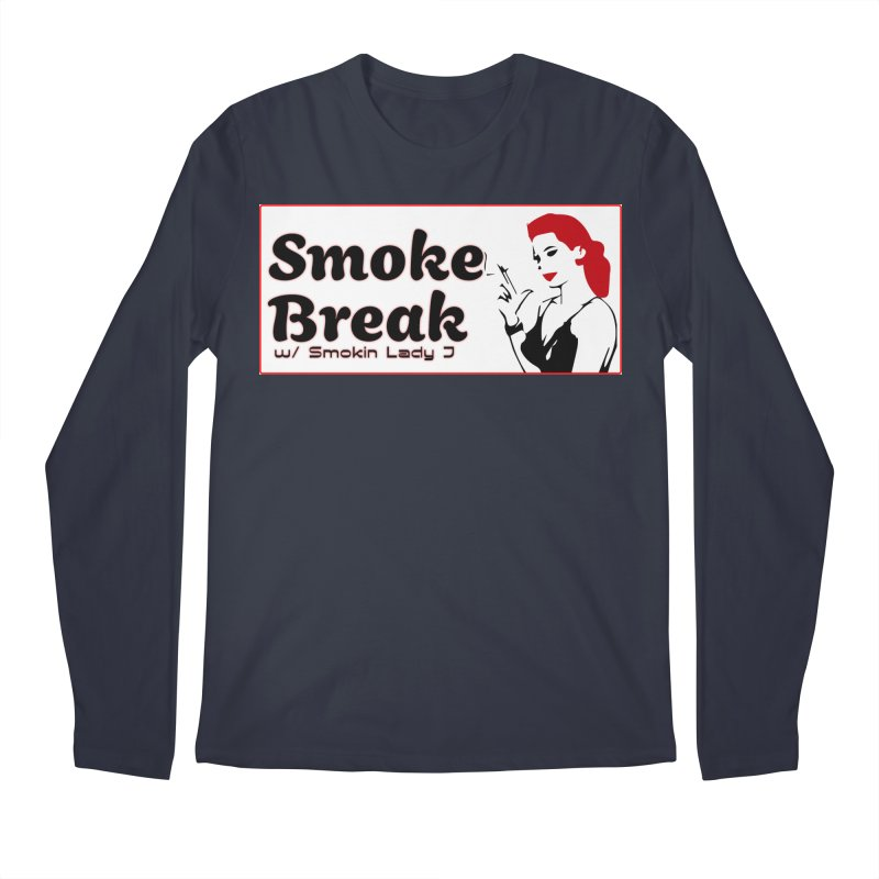 Smoke Break Classic Men's Regular Longsleeve T-Shirt by SixSqrlStore