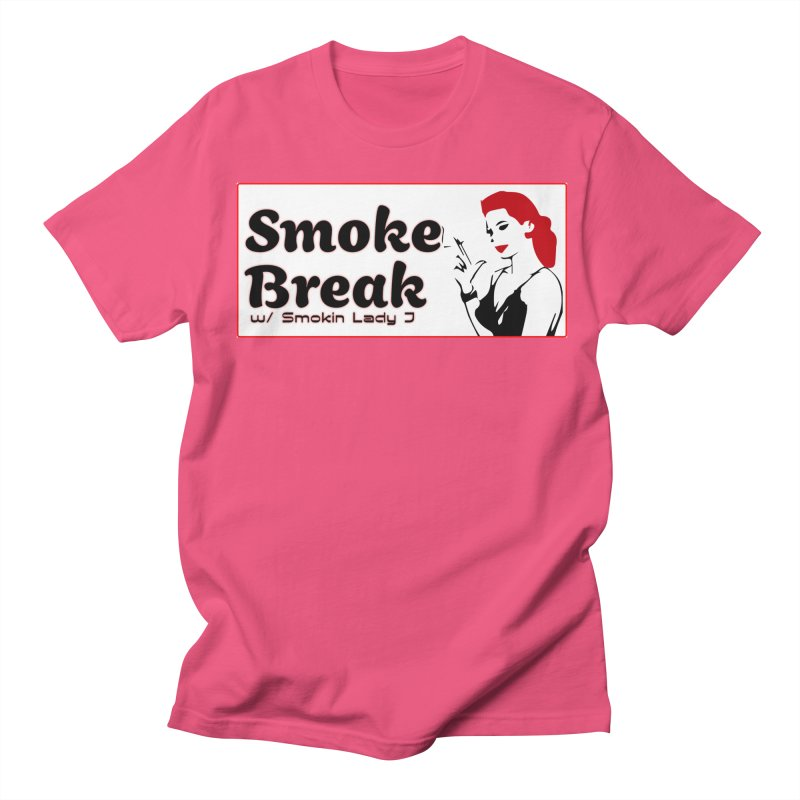 Smoke Break Classic Men's Regular T-Shirt by SixSqrlStore