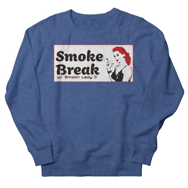 Smoke Break Classic Men's French Terry Sweatshirt by SixSqrlStore