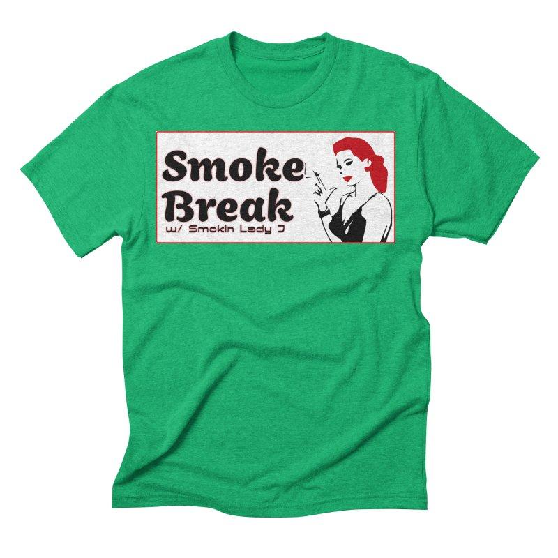 Smoke Break Classic Men's Triblend T-Shirt by SixSqrlStore
