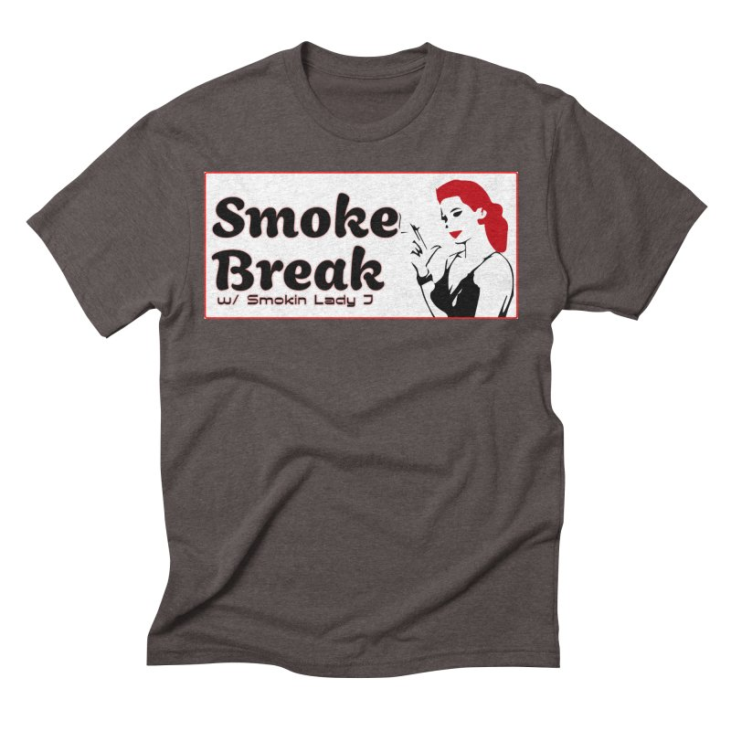 Smoke Break Classic Men's Triblend T-Shirt by SixSqrlStore