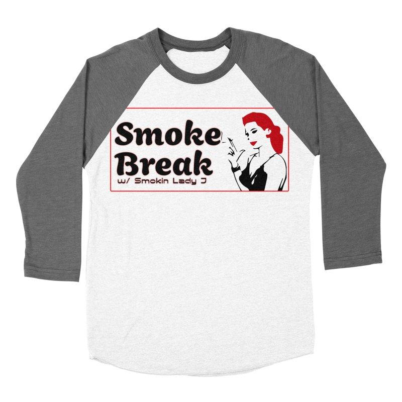 Smoke Break Classic Women's Baseball Triblend Longsleeve T-Shirt by SixSqrlStore