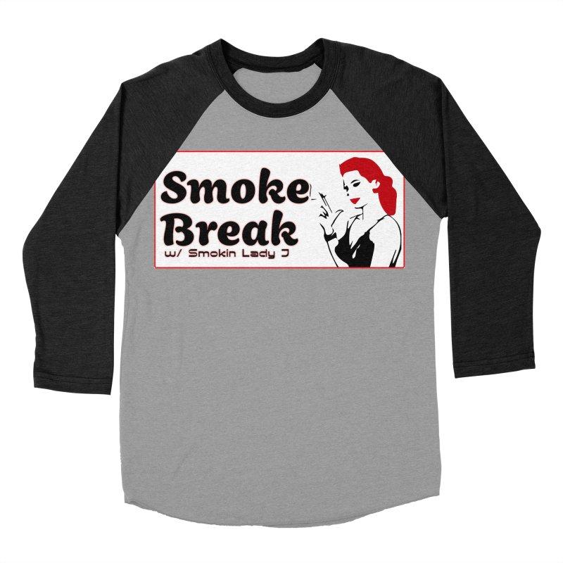 Smoke Break Classic Men's Baseball Triblend Longsleeve T-Shirt by SixSqrlStore