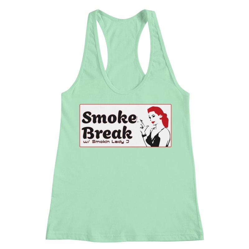 Smoke Break Classic Women's Racerback Tank by SixSqrlStore