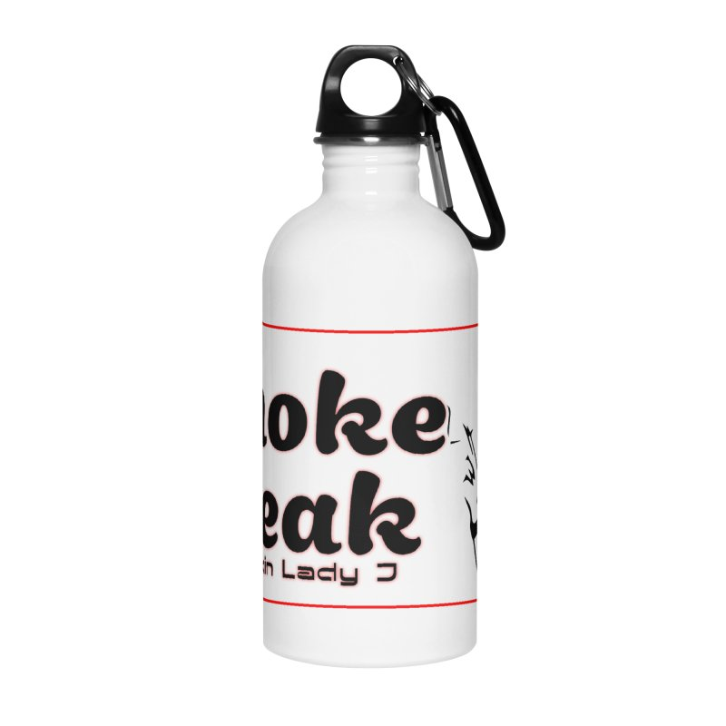 Smoke Break Classic Accessories Water Bottle by SixSqrlStore