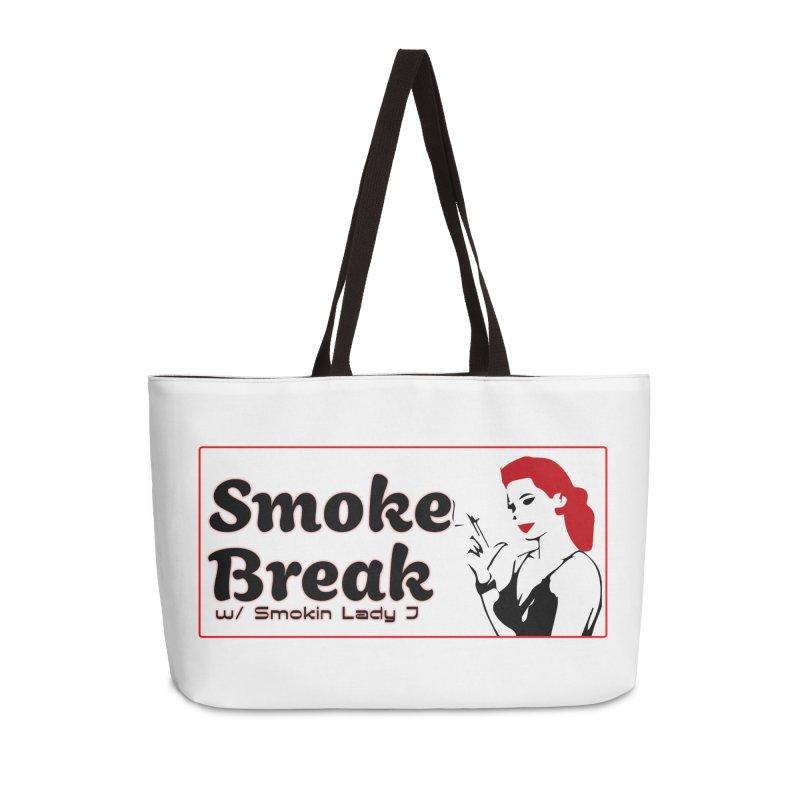 Smoke Break Classic Accessories Weekender Bag Bag by SixSqrlStore