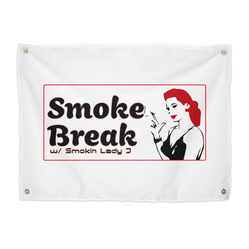 Smoke Break Classic Home Tapestry by SixSqrlStore