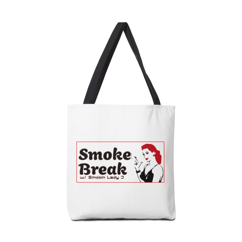 Smoke Break Classic Accessories Tote Bag Bag by SixSqrlStore