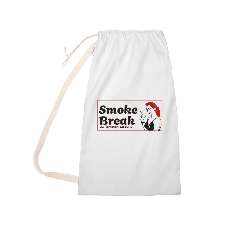 Smoke Break Classic Accessories Laundry Bag Bag by SixSqrlStore