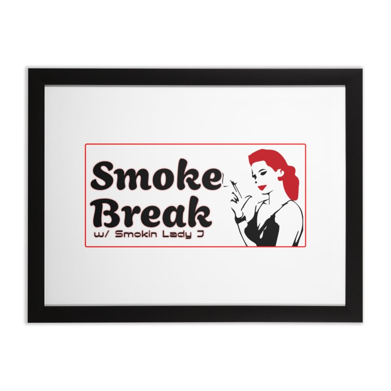 Smoke Break Classic Home Framed Fine Art Print by SixSqrlStore