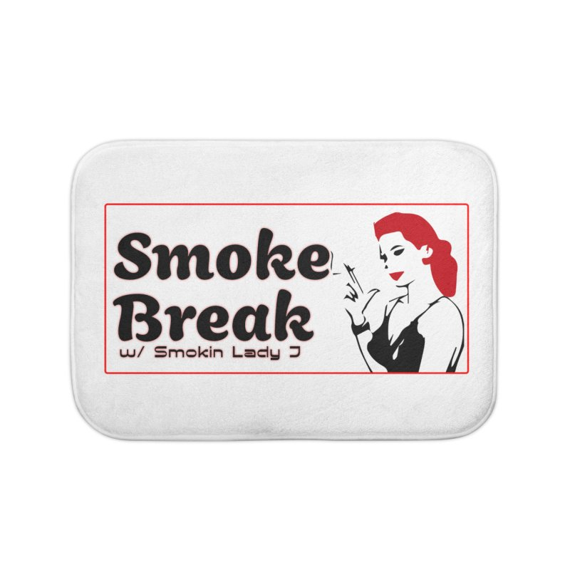 Smoke Break Classic Home Bath Mat by SixSqrlStore