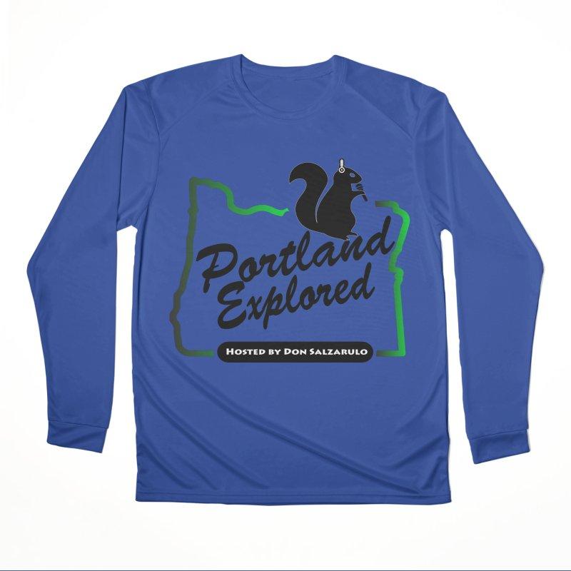 PDXPLRD Men's Performance Longsleeve T-Shirt by SixSqrlStore