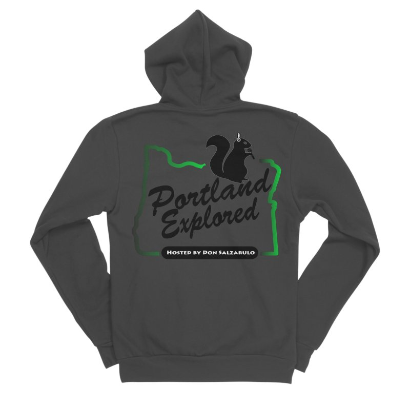 PDXPLRD Women's Sponge Fleece Zip-Up Hoody by SixSqrlStore